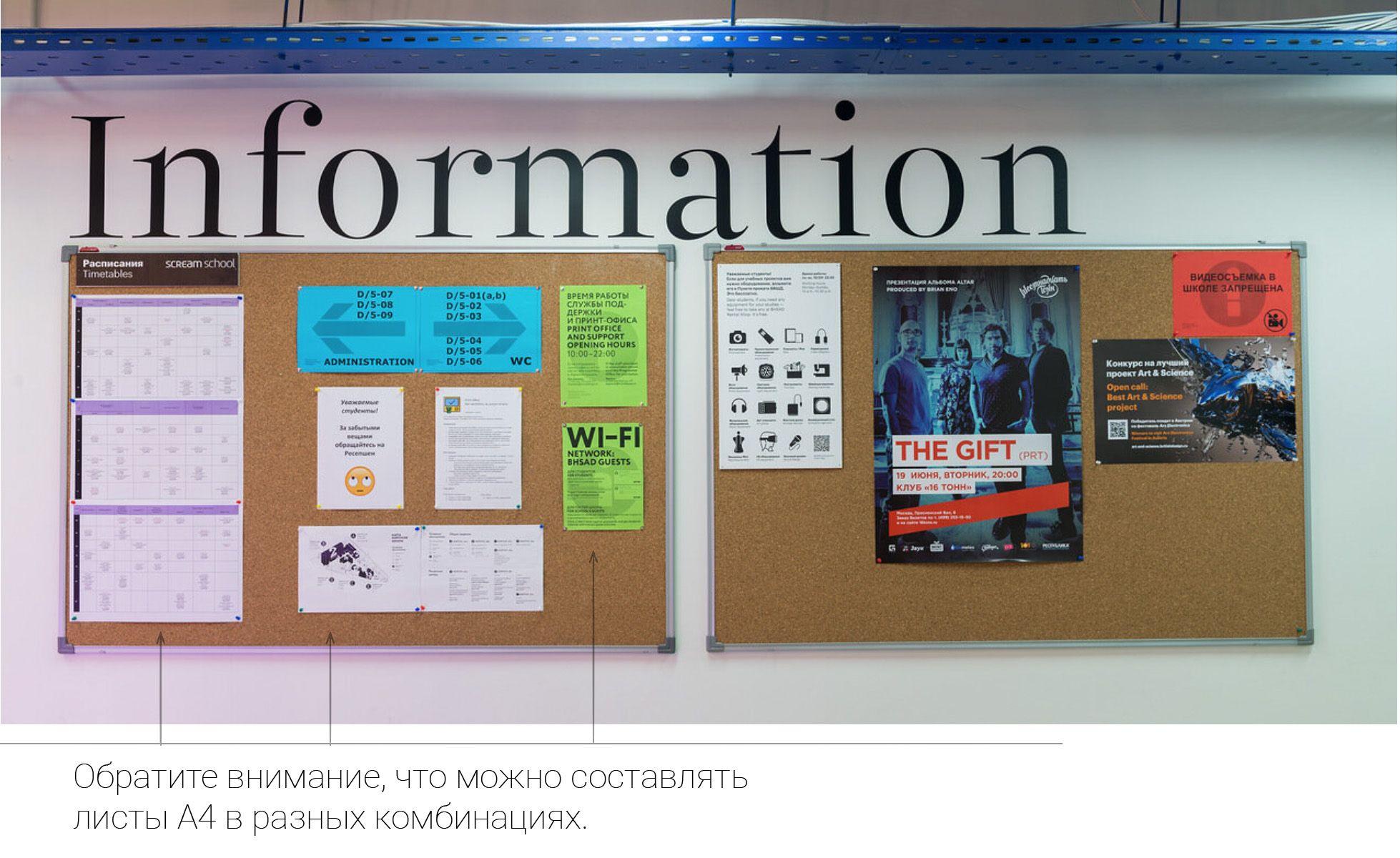информационная зона – композиция