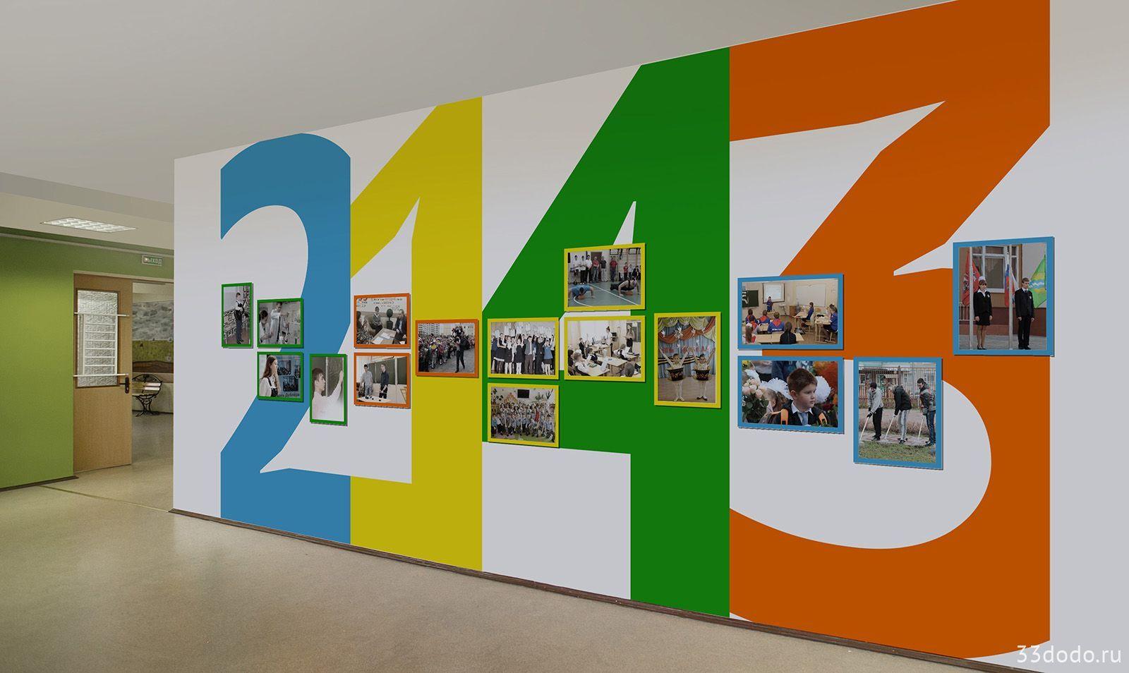 интерьер оформление стендов в школе картинки фото параметр цветовой