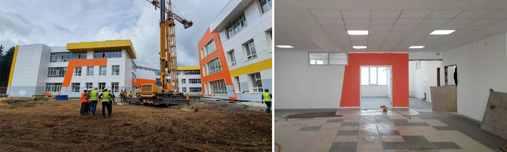 строительство школы Новая Эра
