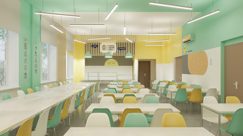 дизайн столовой в школе
