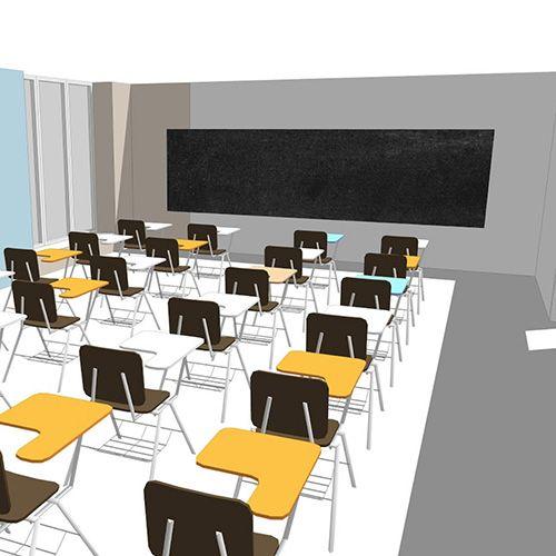 проект покраски новой школы