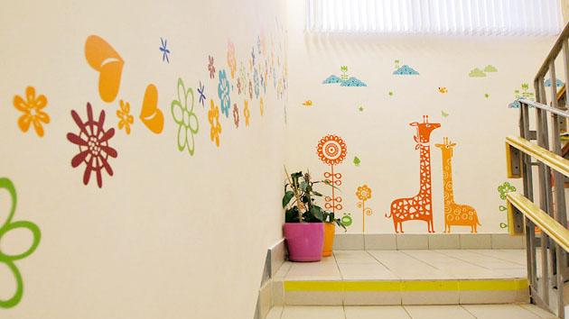 Оформление детских пространств