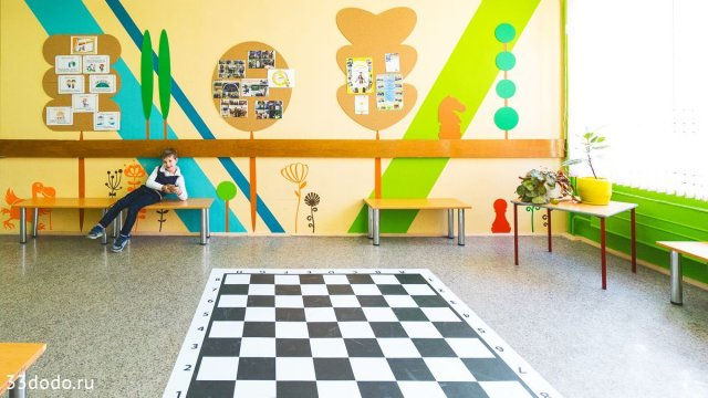 Изображение 4 - шахматное оформление школы