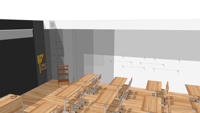 Изображение 11 - дизайн коридора и дизайн класса начальной школы