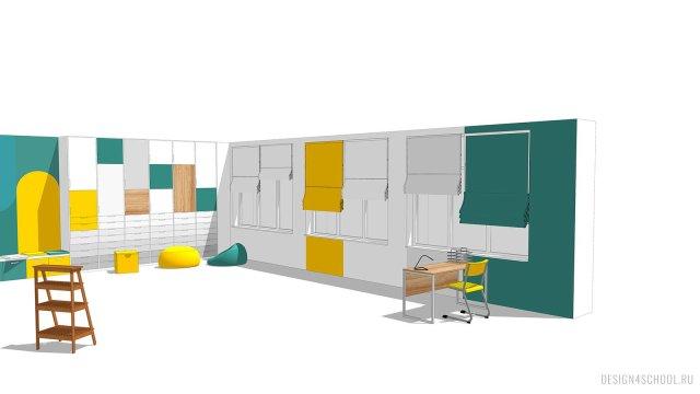 Изображение 18 - дизайн коридора и дизайн класса начальной школы