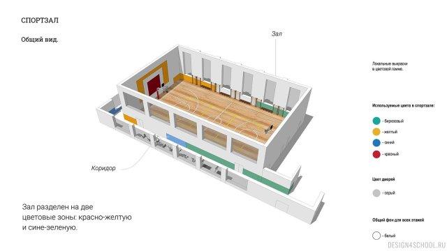 Изображение 22 - проект покраски новой школы
