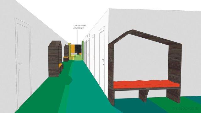 Изображение 3 - дизайн коридора и дизайн класса начальной школы