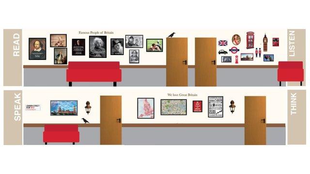 Изображение 32 - оформление школы: лестниц, рекреаций, актового зала, коридоров