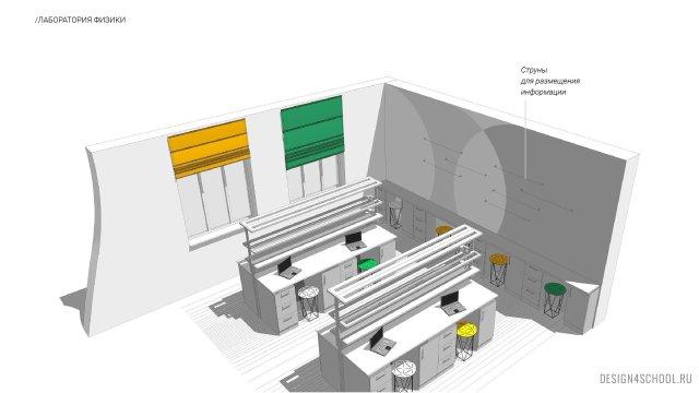 Изображение 13 - Фирменный стиль и концепт образовательного пространства в физико-математическом лицея.