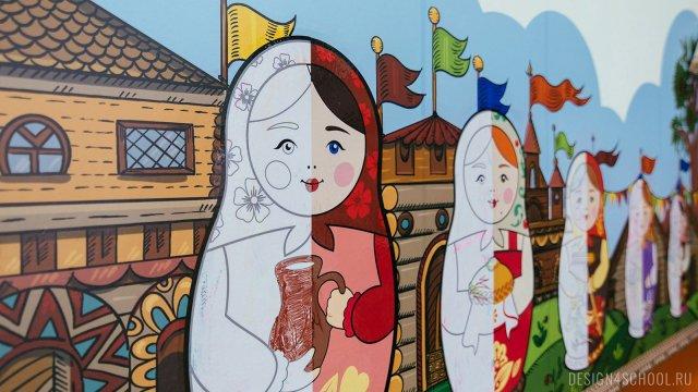 Изображение 6 - Оформление рекреации для начальной школы -История древней руси
