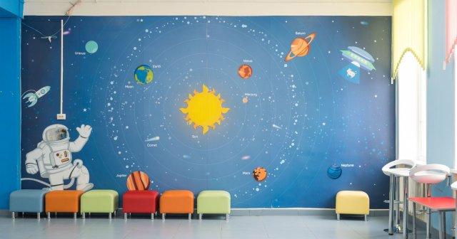 Изображение 5 - дизайн начальной школы.