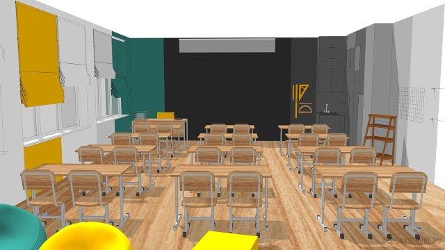 Изображение 15 - дизайн коридора и дизайн класса начальной школы