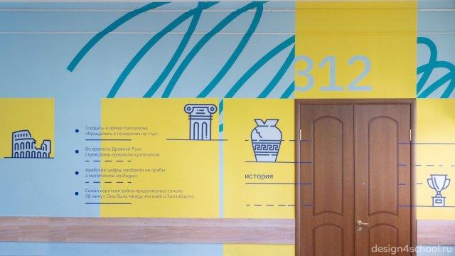 Изображение 3 - Оформление коридоров школы