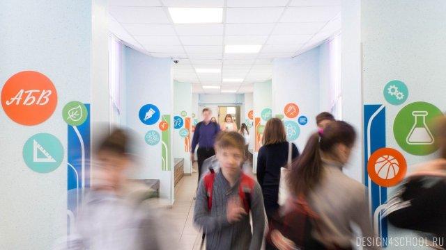 Изображение 13 - дизайн стен школьного фойе, коридоров и рекреации