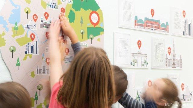 Изображение 7 - частная школа Концепт – дизайн стен
