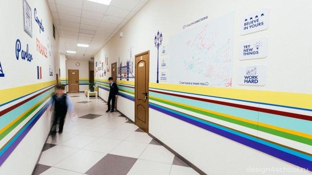Изображение 5 - оформление Ломоносовской школы-пансиона