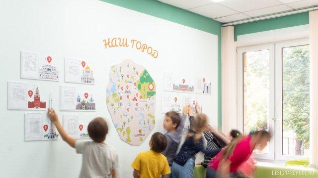 Изображение 5 - частная школа Концепт – дизайн стен