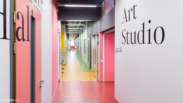 Изображение 4 - дизайн навигации стен в Британской высшей школе дизайна