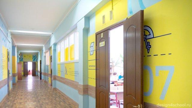 Изображение 12 - Оформление коридоров школы