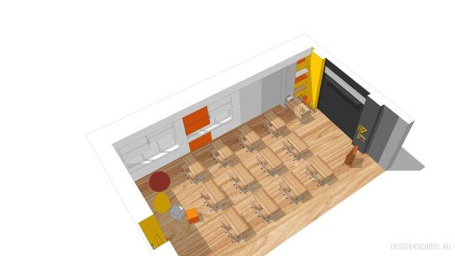 Изображение 10 - дизайн коридора и дизайн класса начальной школы