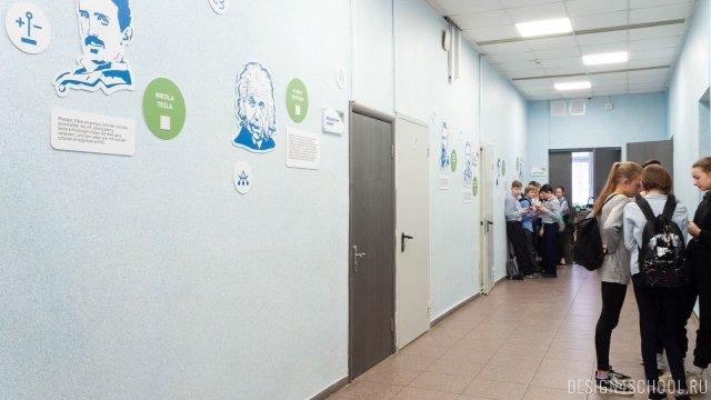 Изображение 8 - дизайн стен школьного фойе, коридоров и рекреации