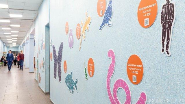 Изображение 5 - дизайн стен школьного фойе, коридоров и рекреации
