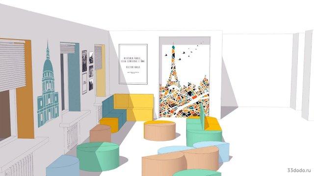 Изображение 16 - оформление коридора школы