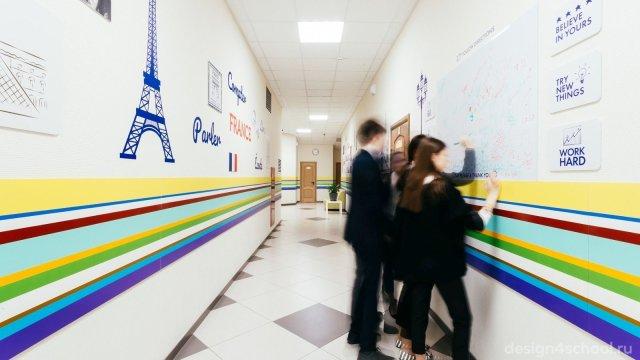 Изображение 3 - оформление Ломоносовской школы-пансиона