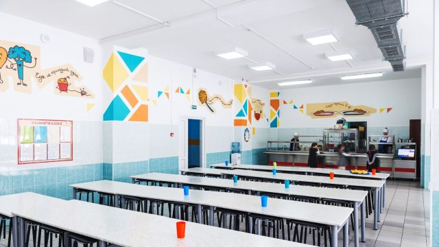 Изображение 12 - дизайн интерьера школьной столовой