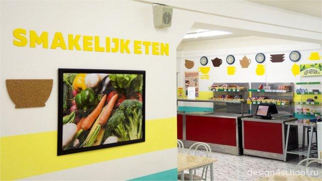Изображение 2 - дизайн школьной столовой