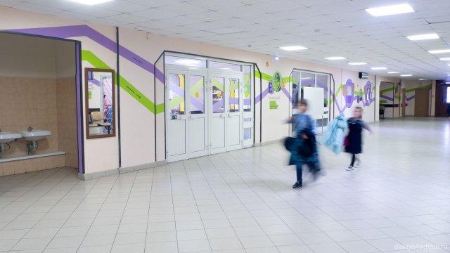 Изображение 6 - оформление холла школы, гардероб и стенды