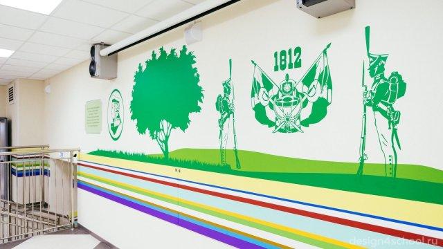 Изображение 8 - оформление Ломоносовской школы-пансиона