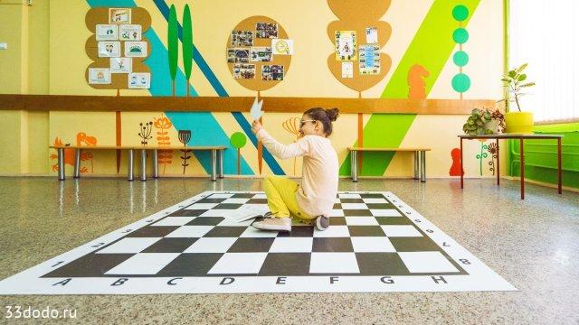 Изображение 8 - шахматное оформление школы