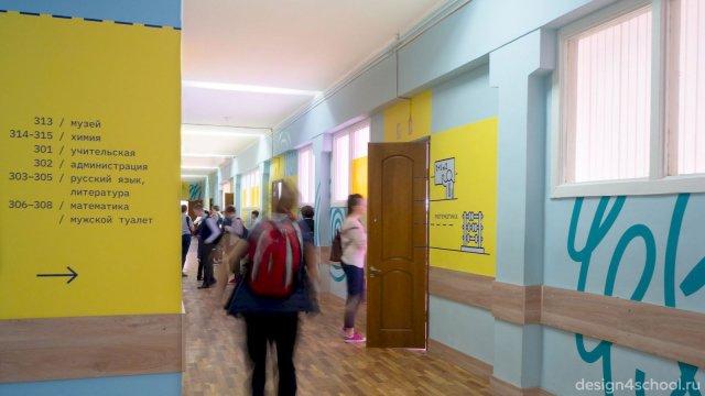 Изображение 8 - Оформление коридоров школы