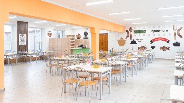 Изображение 3 - дизайн стен столовой старшей школы