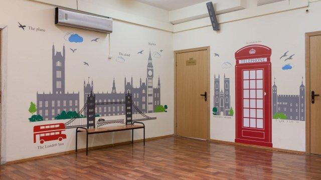 Изображение 2 - оформление стен школы №1935