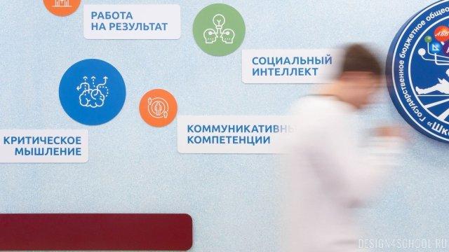 Изображение 6 - дизайн стен школьного фойе, коридоров и рекреации