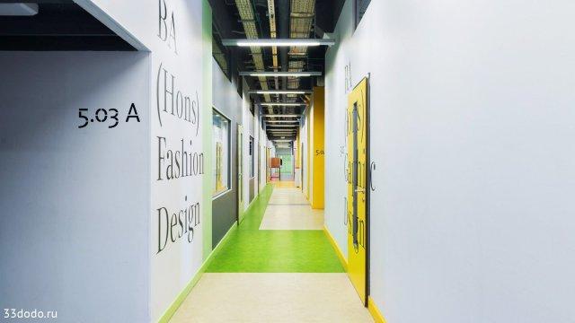 Изображение 2 - дизайн навигации стен в Британской высшей школе дизайна