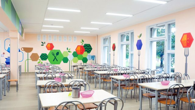 Изображение 2 - оформление школьной  столовой  фото
