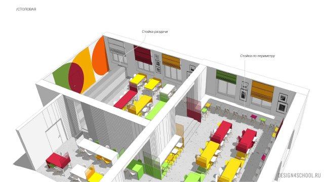 Изображение 7 - Фирменный стиль и концепт образовательного пространства в физико-математическом лицея.