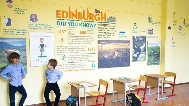 Изображение 2 - дизайн кабинетов английской школы