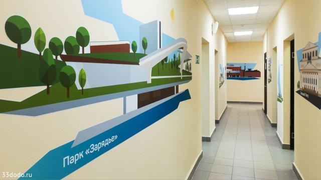 Изображение 7 - дизайн стен для центра поддержки семьи и детства