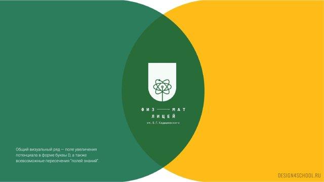 Изображение 1 - Фирменный стиль и концепт образовательного пространства в физико-математическом лицея.