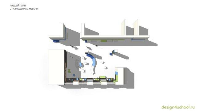 Изображение 1 - проект дизайна входной группы