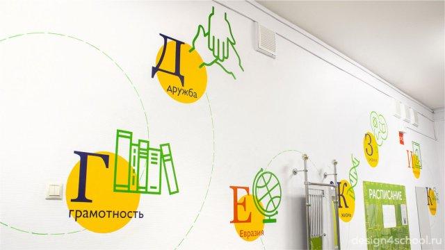 Изображение 12 - оформление гардероба и актового зала начальной школы