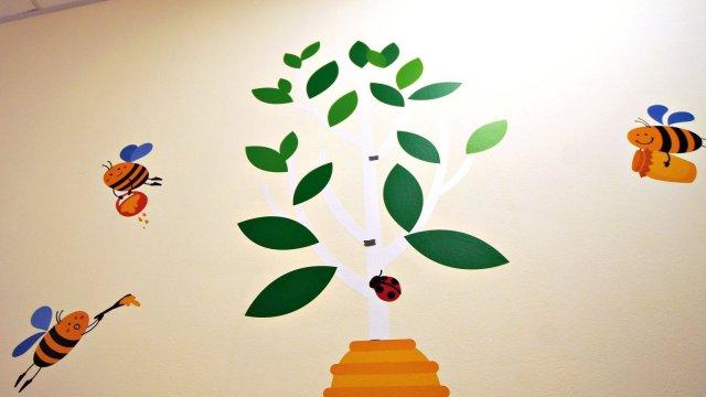 Изображение 12 - Оформления стен детского центра Улей