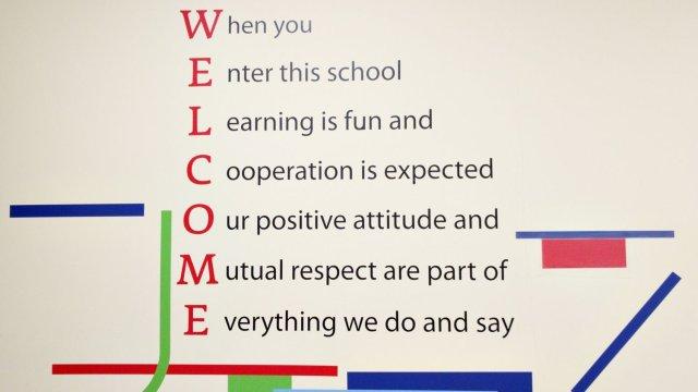 Изображение 11 - оформление стен школы иностранных языков