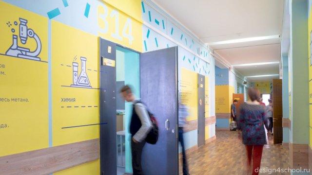 Изображение 9 - Оформление коридоров школы
