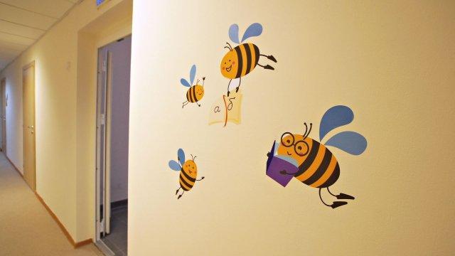 Изображение 6 - Оформления стен детского центра Улей