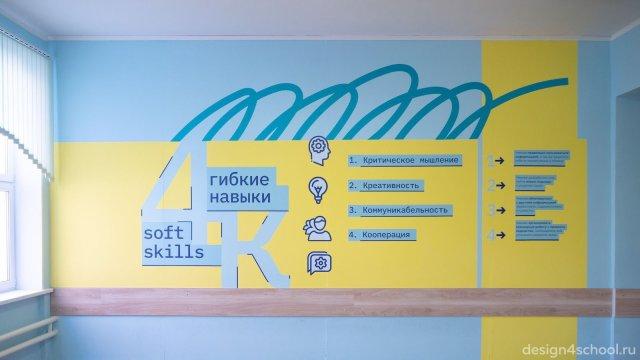 Изображение 2 - Оформление коридоров школы